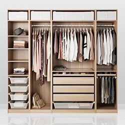 Go to PAX fitted wardrobes