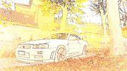 "New artwork for sale! - "" Nissan Skyline R34 Gtr by PixBreak Art "" - http://ift.tt/2lfgBA2"