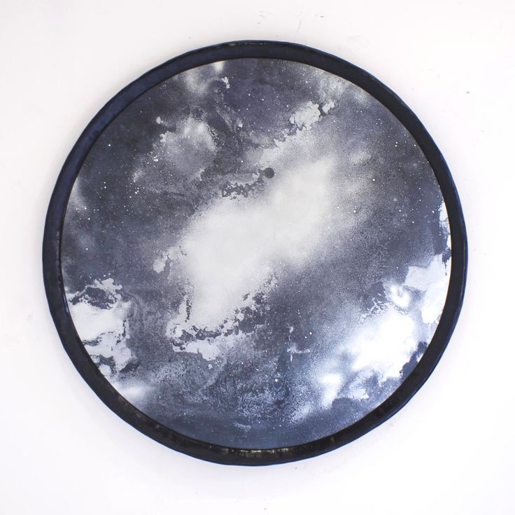Nebula Mirror as featured in elle decoration uk, november 2014