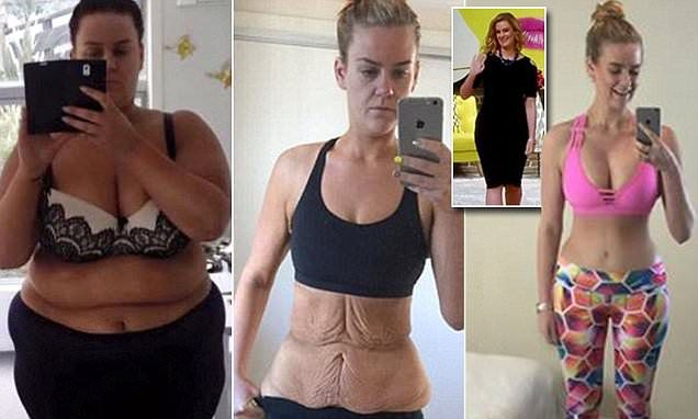 Simone Anderson Pretscherer shows new body on Tyra Banks' FABLife show after weight loss | Daily Mail Online