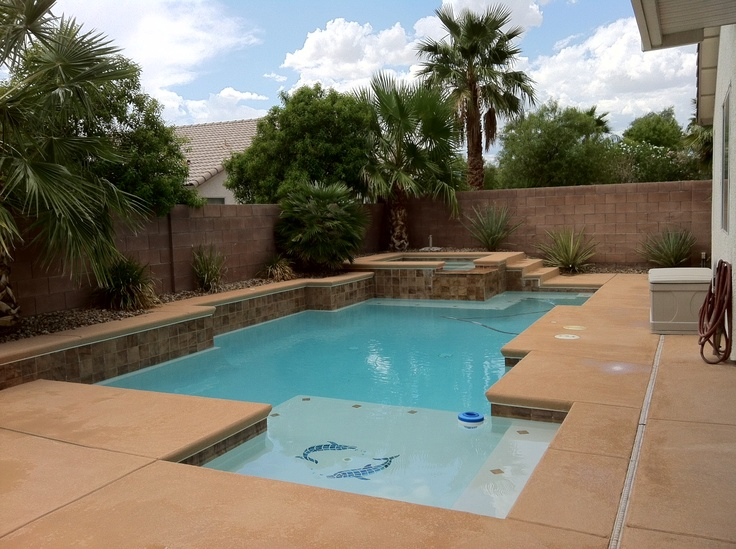 Dazzling Square Pool In North Las Vegas Real Estate Michaelsrealestate