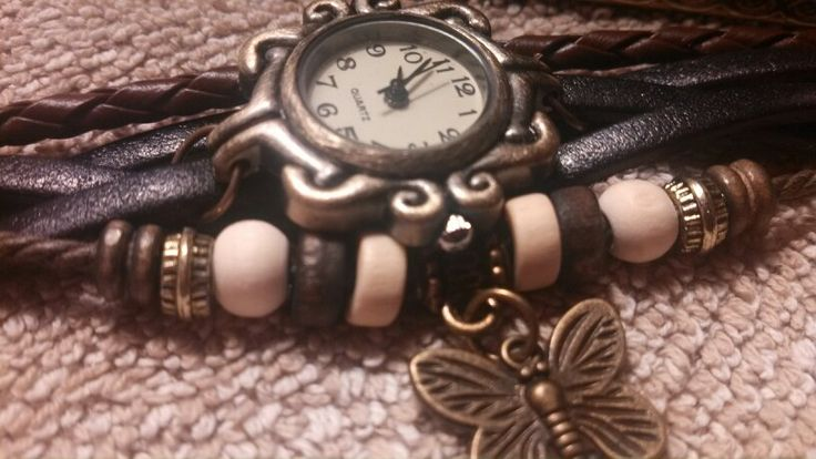 Boho vintage wATCH HANDMADE NOT FROM CHINA USA made