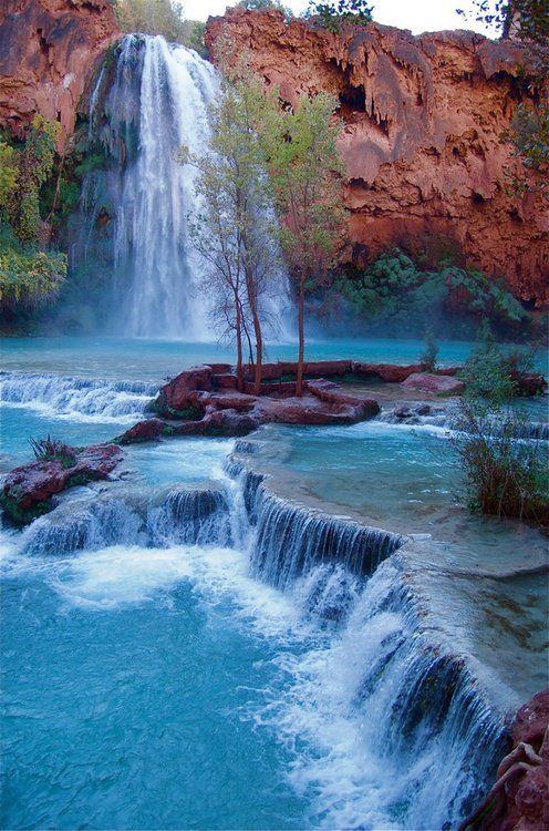 Havasu Falls, Grand Canyon, Arizona US