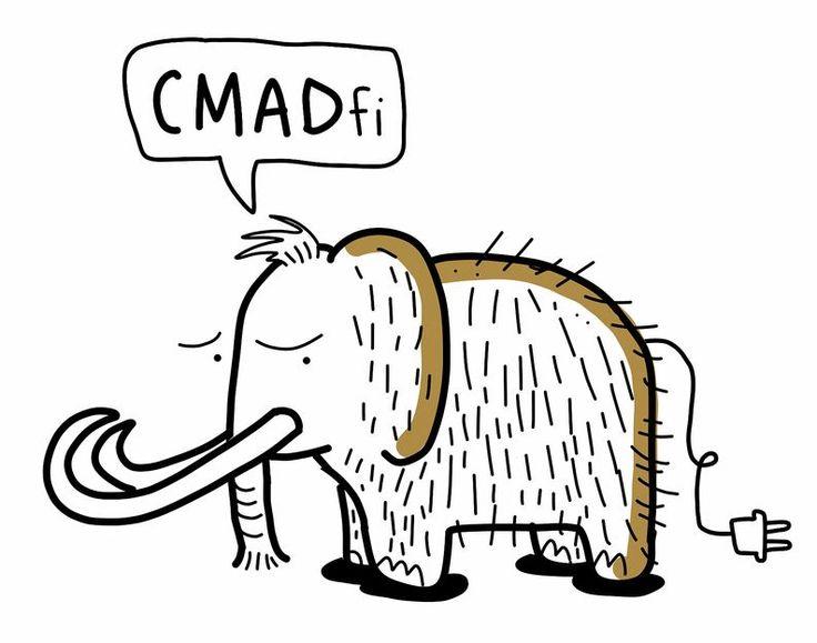 CMADFI-blogi, Linda Saukko-Rauta: MIten piirtäisit mammutin, asiaa livepiirtelystä