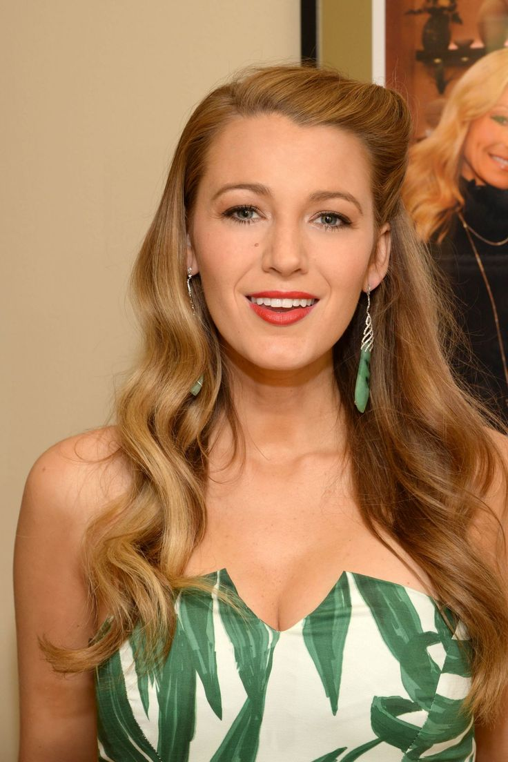 Blake Lively - 'Live with Kelly and Michael' Backstage Photos, April 21 2015