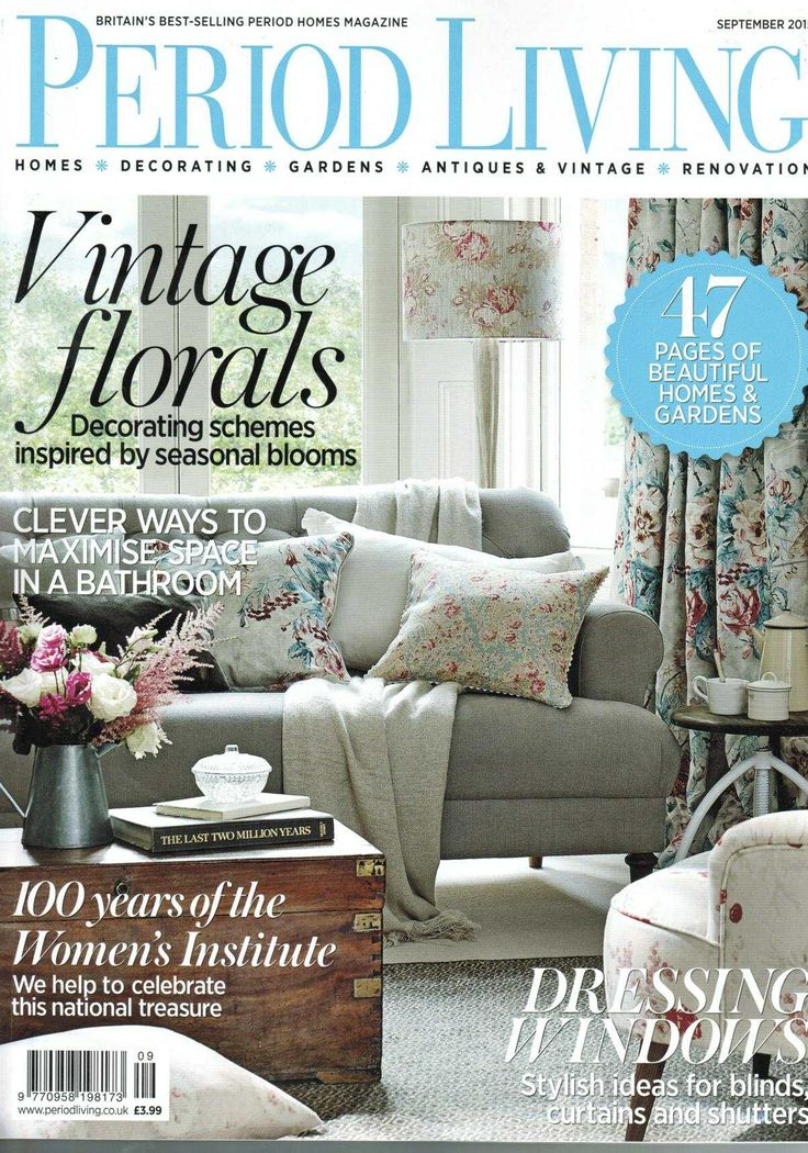 Check out Bloc Blinds in the September 2015 issue of Period Living. Bloc's Fabric Changer system is featured in the Window Treatment special.