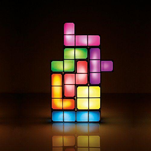 Fun!! Non traditional lighting solutions: AmazonSmile: Tetris Light USA - ACDC: Toys & Games