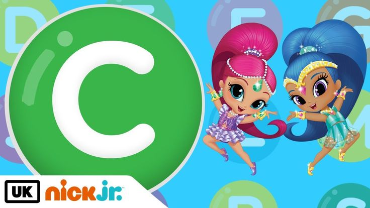 It's the Letter C! – Featuring Shimmer and Shine | Nick Jr. UK