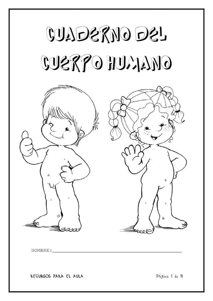 Menta Más Chocolate - RECURSOS PARA EDUCACIÓN INFANTIL: Cuaderno del CUERPO HUMANO