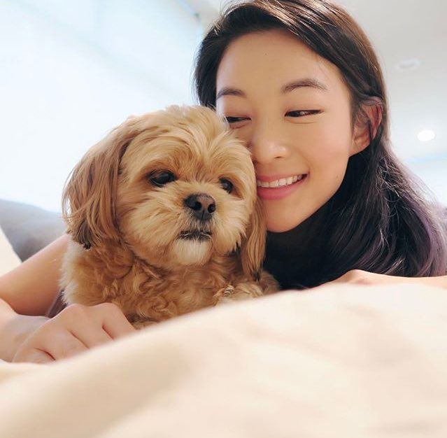 Arden Cho & Chewy