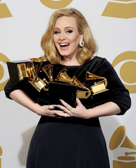 A few thoughts about Adele cleaning up at The Adele Awards (formerly known as the Grammy Awards). Description from jeffwinbush.com. I searched for this on bing.com/images