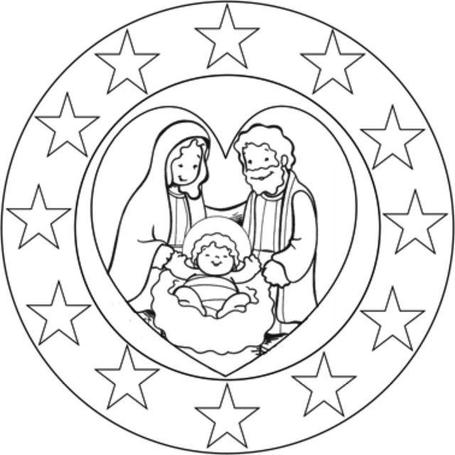 La Catequesis (El blog de Sandra): Mandalas de Adviento y Navidad para estimular la concentración de niños y adultos