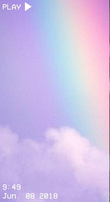 Pin By استغفرالله On Art Rainbow Wallpaper Aesthetic Iphone Wallpaper Pastel Pink Wallpaper