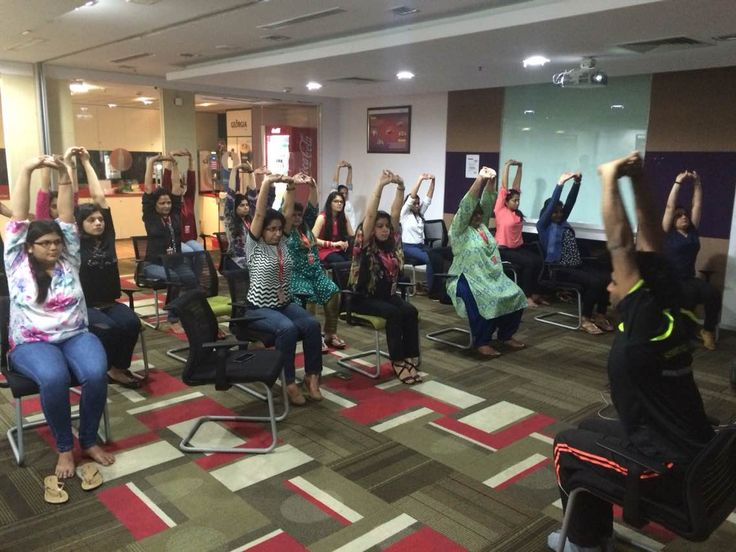 Yoga is a way of life and we strive to deliver it to each individual across our nation so that people can enjoy the benefits of it.  We conduct regular corporate events providing stress management trainings through chair yoga and breathing practices.   #chairyoga #meditatetoelevate #yogaathome -  See more at infinite.nowfloats.com/bizFloat/56e3c7369ec66807bcf3419d