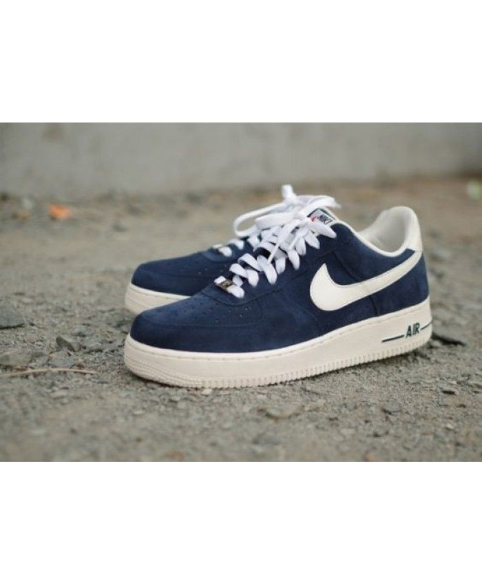 Nike Air Force 1 Blazer Ink Blue Shoes UK Sale