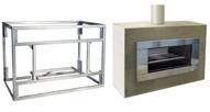 Escea EW5000 outdoor cooking fire