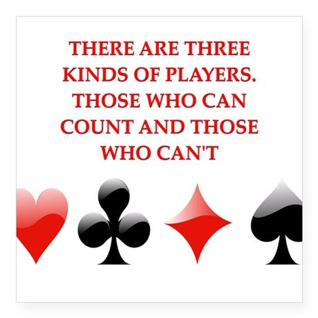 Kinds of #Players #Casinos #cardgames