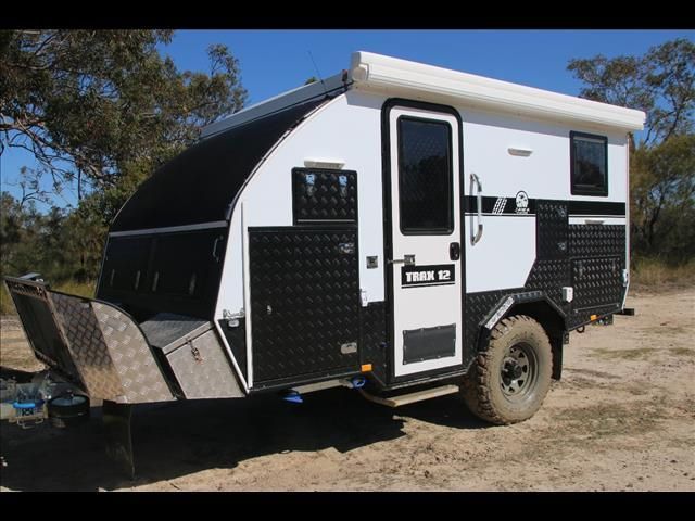 "TRAX-12 ""White Series"" JAWA Off-road Hybrid Caravan ..."