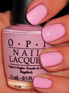 "OPI nail polish. College has turned me into a nail polish junkie. Although this brand is a little more expensive than others, it is totally worth it. From the gorgeous colors to the precious names (this color is called ""MOD about you""), I'm hooked. <3 OPI Valerie Franks"