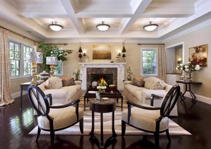 Marvelous Sophisticated Interior Design By Von Hemert Interiors Designer.