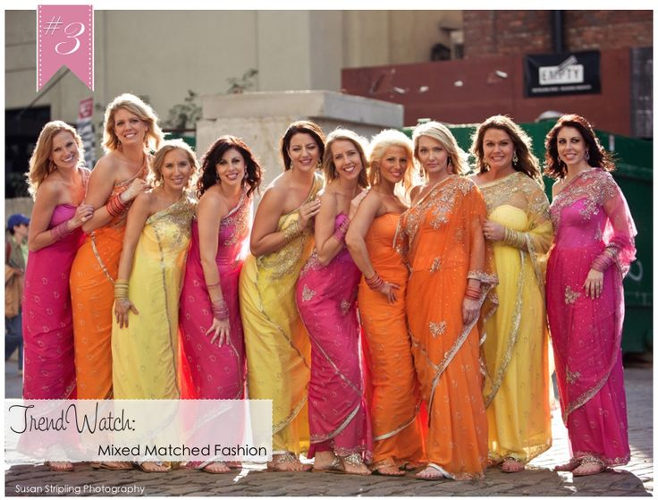 multi- colored bridesmaid dresses are great for a beach wedding. If you want the best officiant for your Outer Banks, NC, ceremony, contact Rev. Barbara Mulford: myobxofficiant.com/