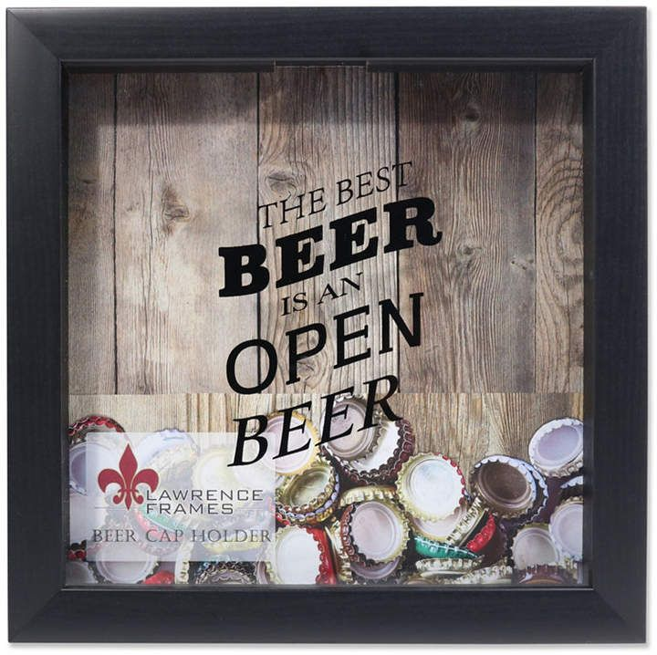 Lawrence Frames Black Shadow Box Beer Cap Holder 10 In 2020 Beer Cap Holder Diy Shadow Box Shadow Box Gifts