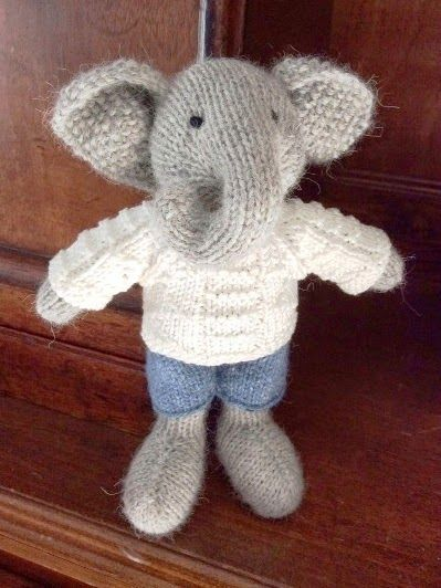 City Home/Country Home's version of Little Cotton Rabbits Boy Elephant..