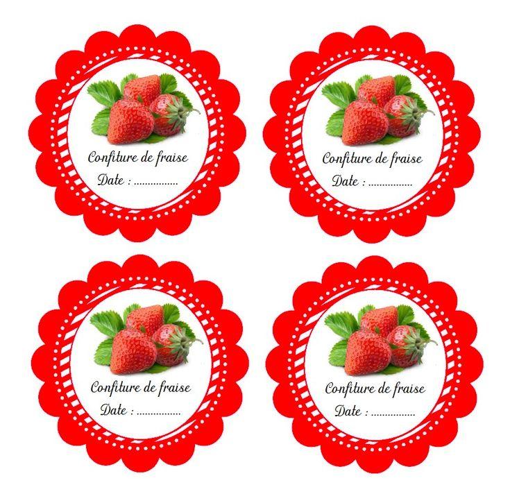 Confiture de fraises pour maman - Ritamoutarde en CLIS