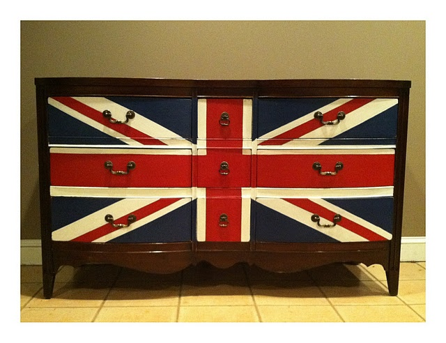 British Flag Dresser
