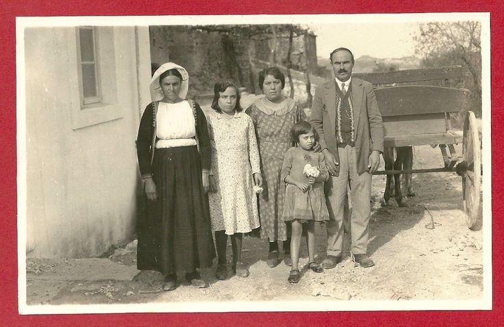 Greece Corfu Original Photo 1932 Afsttios Family Village Mlakios Malcros | eBay