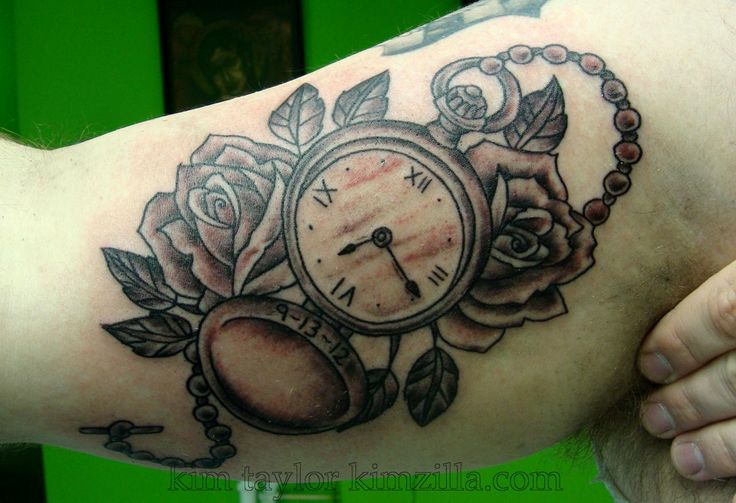 31 best Open Pocket Watch Tattoo Designs images on Pinterest