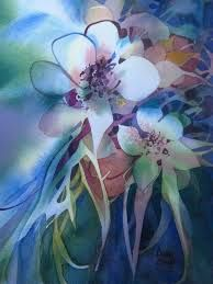 Image result for poured watercolor paintings