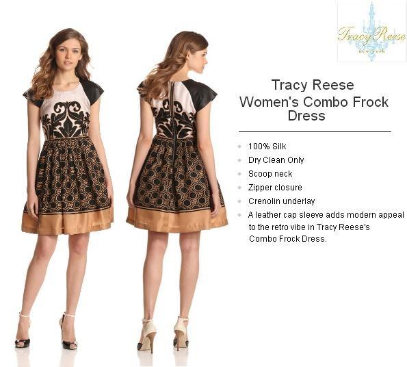 Tracy Reese Women's Combo Frock,Black/Caramel http://www.amazon.com/dp/B009NDBXBA/?tag=pinterest0e50-20
