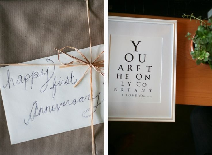 25+ Unique One Year Anniversary Gifts Ideas On Pinterest