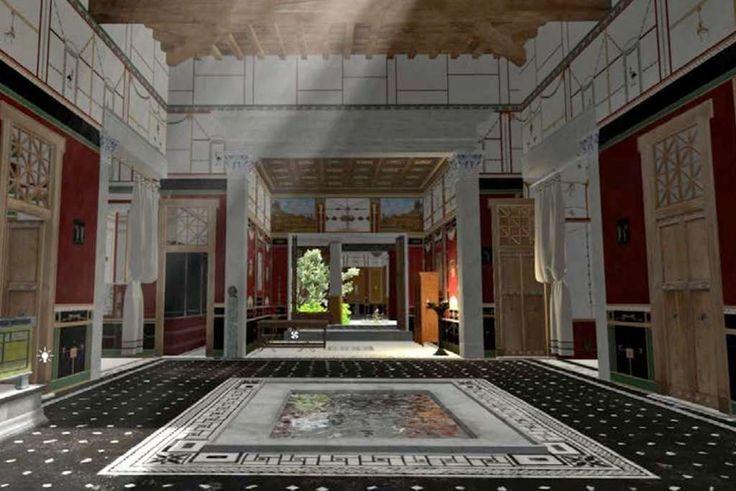 Wetenschappers hebben de eerste 3D-modellen van Pompeii voltooid en gebruiken ze om te laten zien hoe het leven in de stad er voor de fatale uitbarsting ui