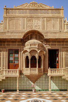 Jaisalmer, House, Building, India. #India #archit…