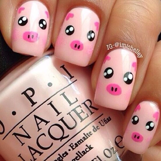 Pig Nail Art: Best 25+ Pig Face Paint Ideas On Pinterest