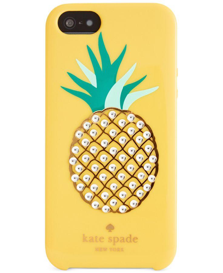 kate spade new york Embellished Pineapple iPhone 5 Case
