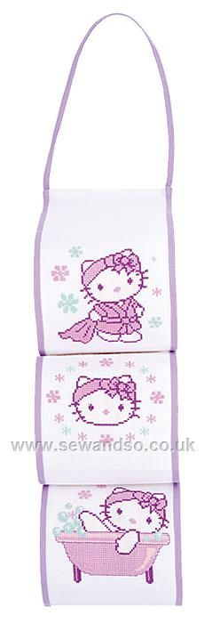 Shop online for Hello Kitty Toilet Roll Holder Cross Stitch Kit at sewandso.co.uk. Browse our great range of cross stitch and needlecraft products, in stock, with great prices and fast delivery.