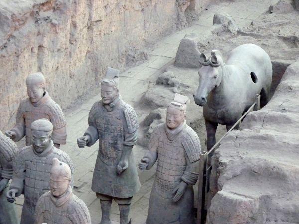 Esercito di terracotta_Mausoleo del primo imperatore Qin a Xi'an
