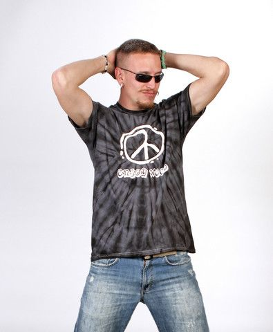 Spider Black Tie Dye T-Shirt – Enjoy Weed Shack EnjoyWeed.com