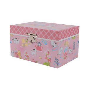 BN tiger Tribe Jewellery box Kittens & Puppies Medium musical case ballerina