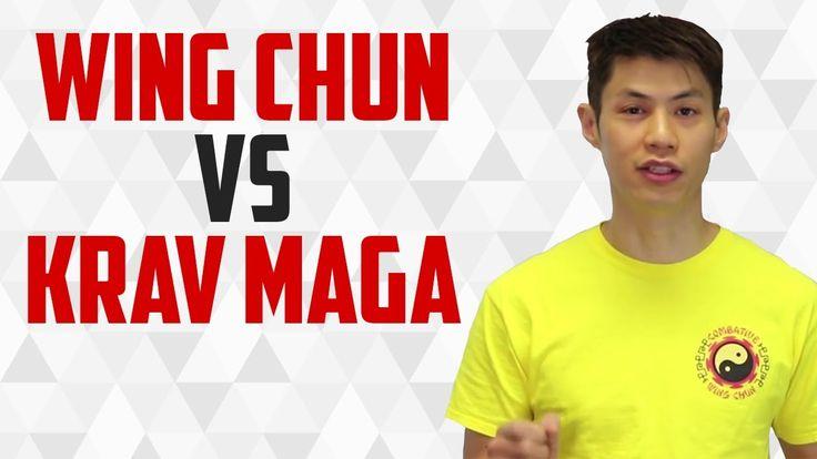 Self Defense School: Wing Chun or Krav Maga
