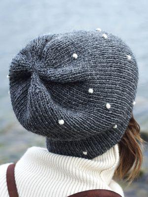 Aikuisen Lumipallo-neulepipo Novita 7 Veljestä | Novita knits