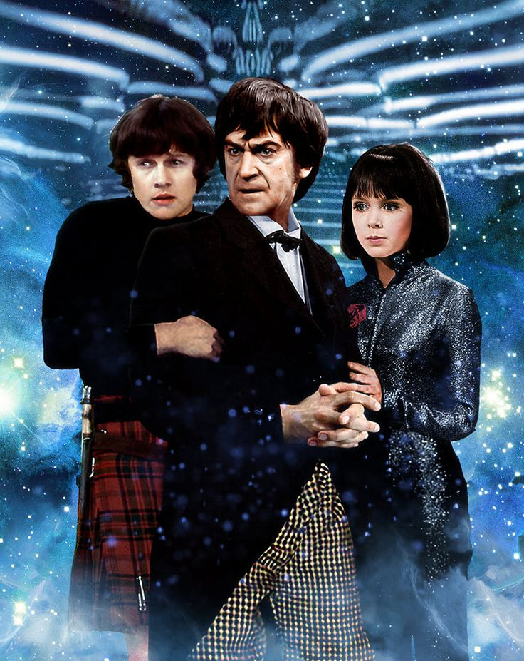 The Second Doctor and Friends #2 by Hisi79.deviantart.com on @DeviantArt