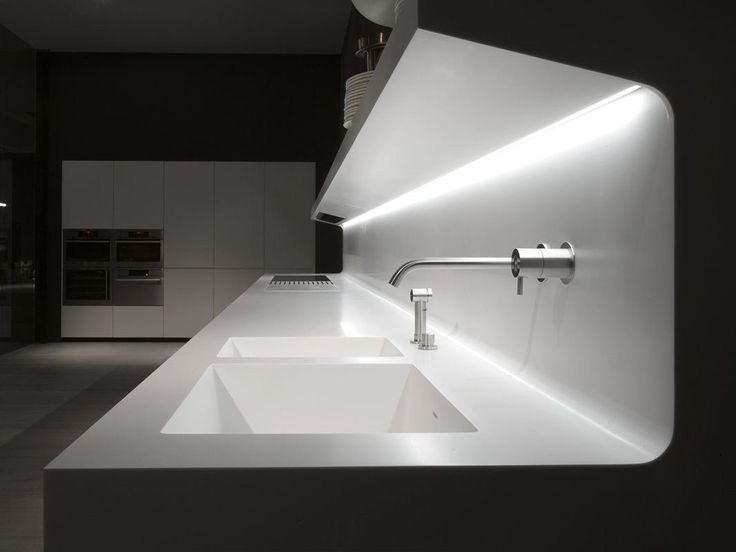 I Love The Lighting   Linear Wall Mounted Corian® Kitchen LACUCINA By  Antonio Lupi Design® Part 37