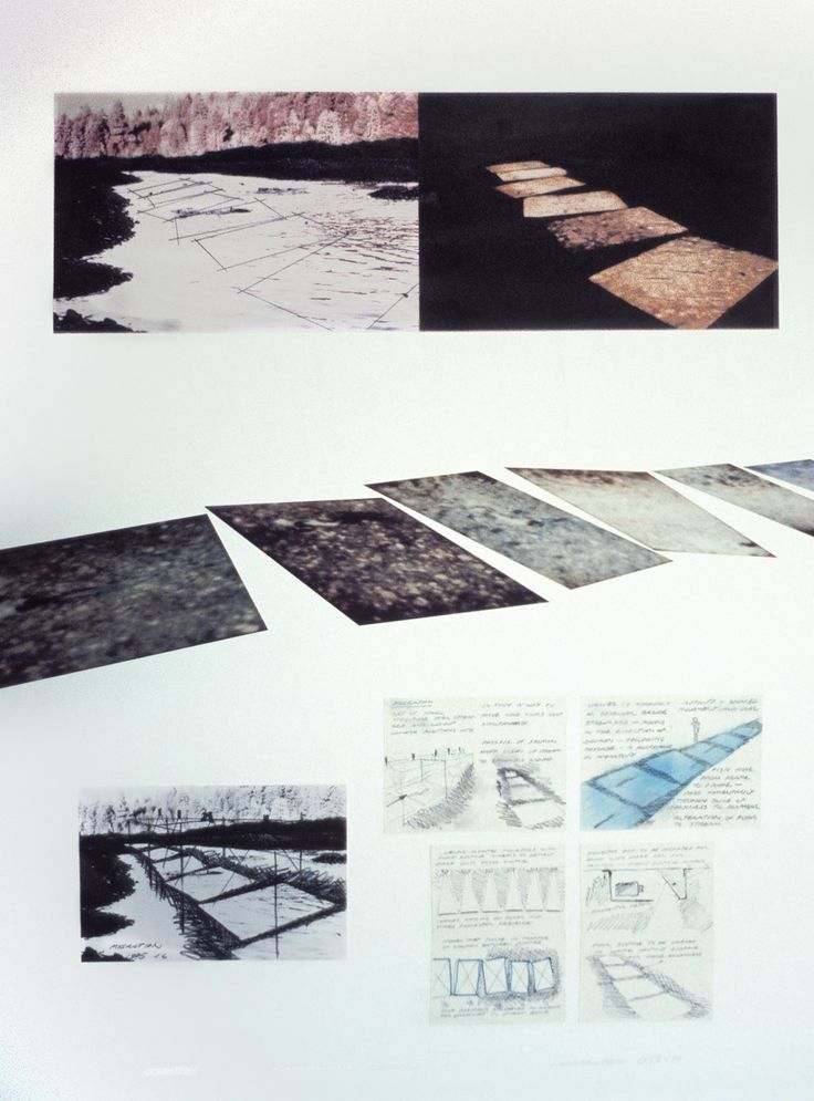 """""""Migration,"""" Super 8 film loop (1975)Carpenter's early sketches and storyboard panels for the film."""