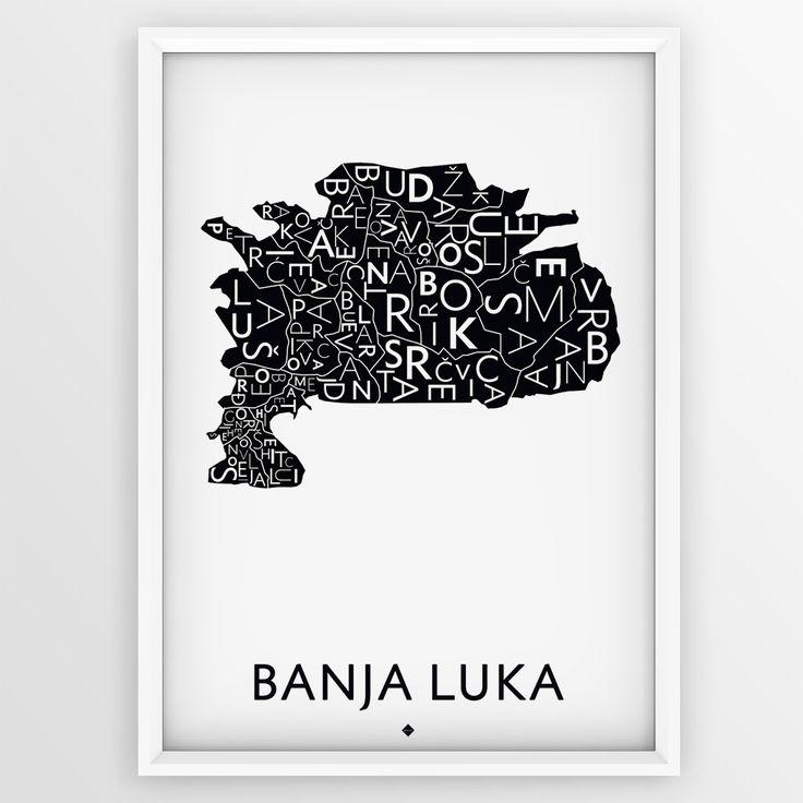 The Map City - Banja Luka