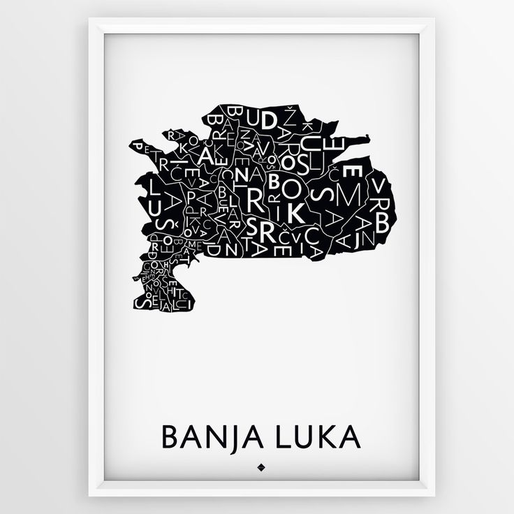 The Map City - Banja Luka