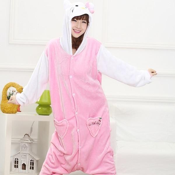 Danganronpa Monokuma Unisex Sleepware Women Men Pajamas Summer Night Ware